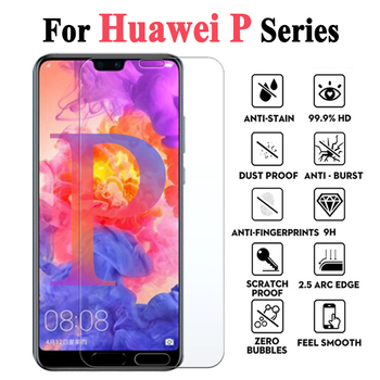 Protective Glass For Huawei P30 Lite Armor On Huawei P 20 Pro Smart Plus 9 Screen Protector Psmart Light Huawai Screensaver Case image