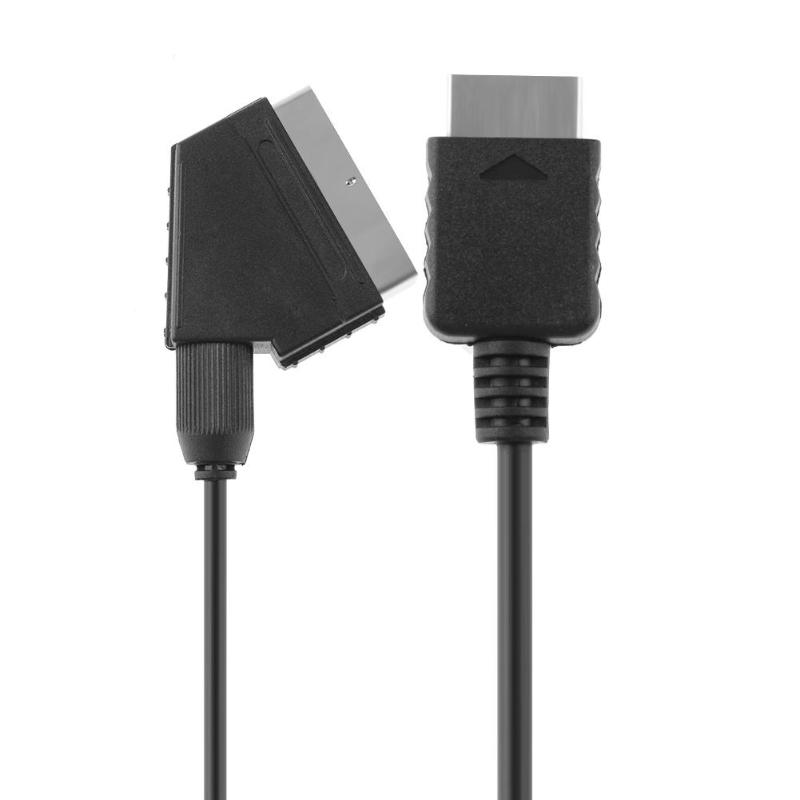 Neue Mode 1,8 Mt/6ft Rgb Scart Draht Kabel Tv Av Spiel Comsole Zubehör Kabel Für Sony Playstation Ps2 Ps3 Dünne Linie Spiel Konsolen Kabel Unterhaltungselektronik