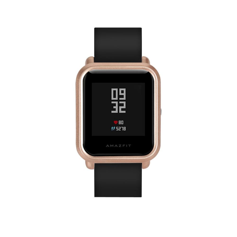 Image 3 - Умный протектор для часов, тонкий, красочная рамка, чехол для ПК, защитная оболочка для Huami Amazfit Bip Молодежные часы высокого качества-in Умные аксессуары from Бытовая электроника
