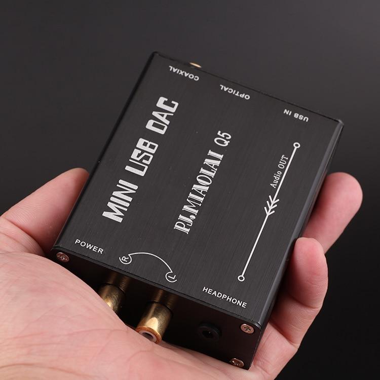 Hifi USB external sound card DAC //USB to coaxial //fiber output WM8740    L3-51
