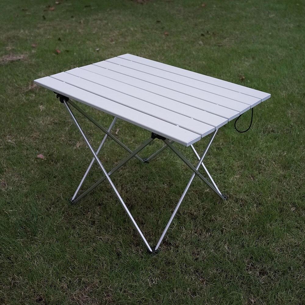 Fabricant Direct Portable en alliage d'aluminium extérieur pliant barbecue table extérieure pique-nique Table pliante Ultra-léger