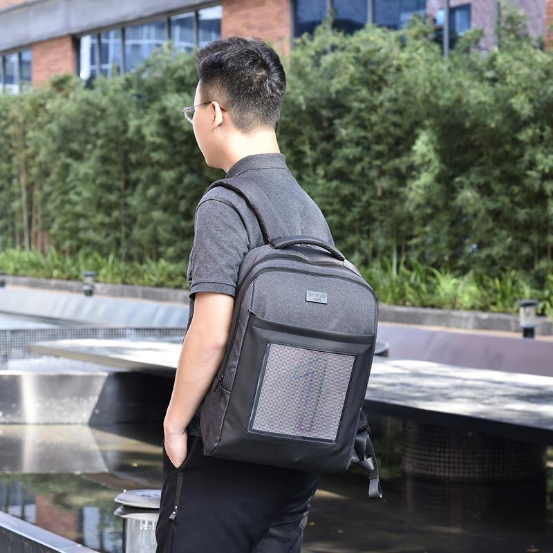 LED Color Screen Dynamic Computer Fashionable Backpack стоимость