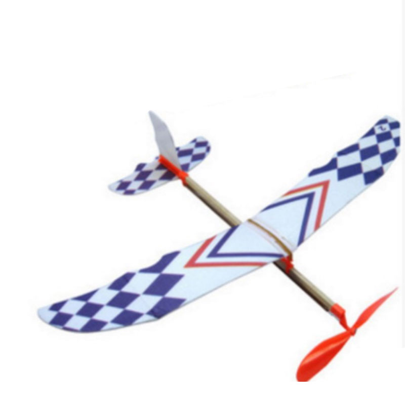Flying Glider Planes Aeroplane Toys Rubber Band Development Childrens Gift Glider Toy Operational Ability Interactive Tools