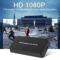 1080P HDMI Video Capture Box HD Game Capture Timed Recording USB2 Live Broadcast Streaming for Gaming Meeting 110 220V EU