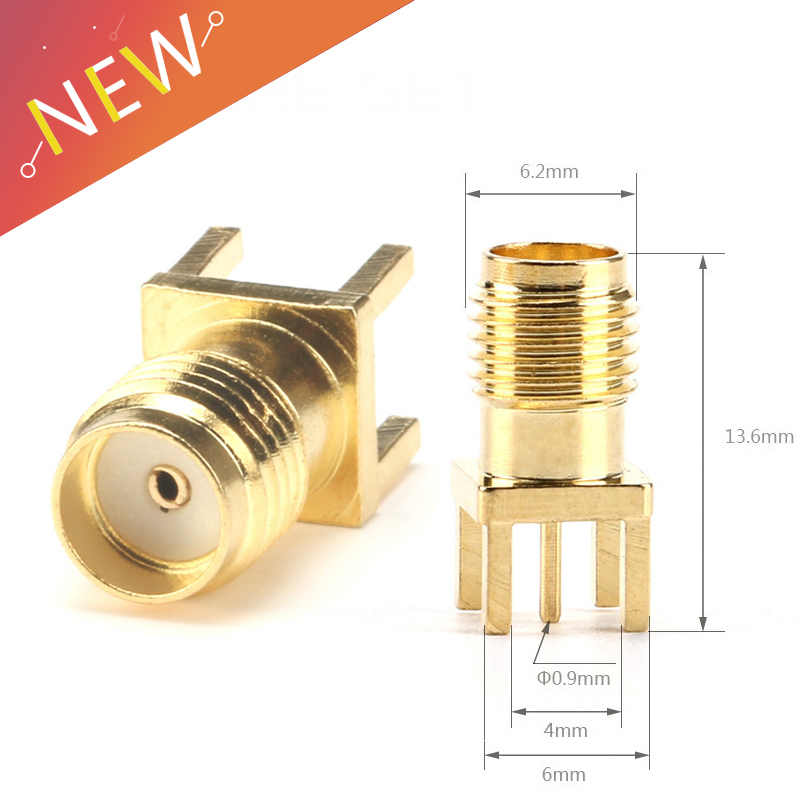 sma-female-jack-solder-nut-edge-pcb-clip-straight-mount-gold-plated-rf-connector-receptacle-solder