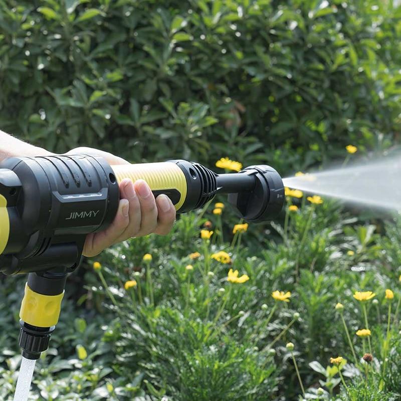 Leistungsstarke Handheld Auto Wasser Pistole 2.2MPA Hohe Wasser Druck 21 v 1A Rechargable Flush Gun Fenster Haustier Outdoor Reinigung Werkzeug EU Stecker - 6