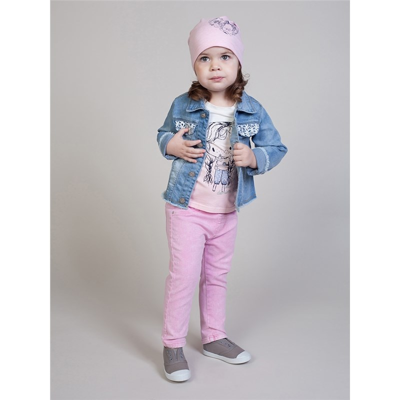 Jackets & Coats Sweet Berry Denim jacket for girls children clothing kid clothes men embroidery patched denim jacket