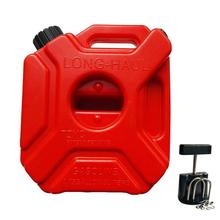 1 шт. запасной автомобильный масляный барабан 5 литров антистатические пластиковые бензиновые бочки для автомобиля, принимающее ведро для дальней поездки