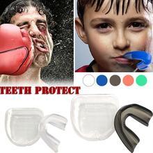 Для взрослых и детей, новая Защита рта, защита зубов для бокса, футбола, баскетбола, каратэ, муай-тай, защита безопасности