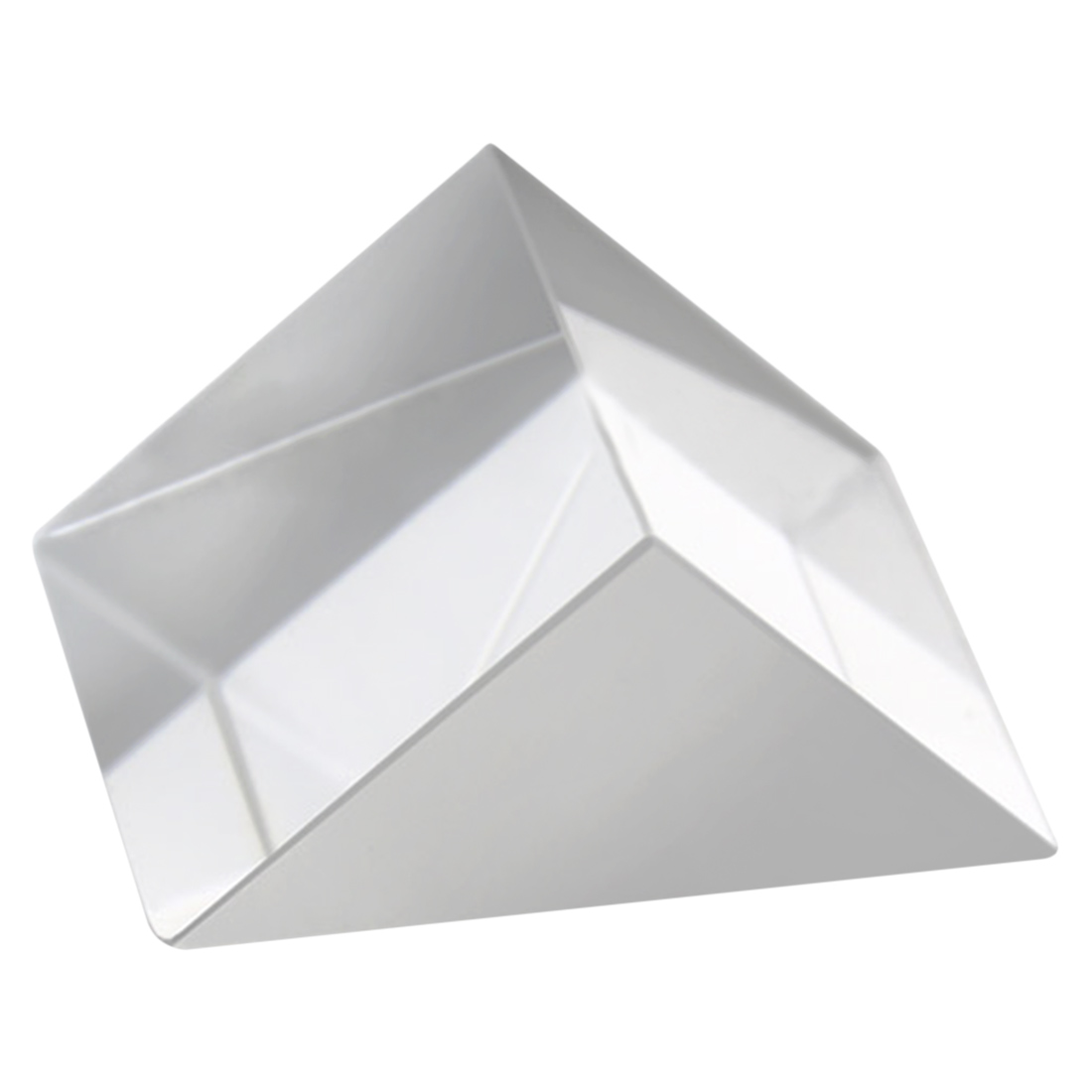 1PC Optical Glass RGB Triple Prism Blemish-Free Tiny Optical Cube for Decoration