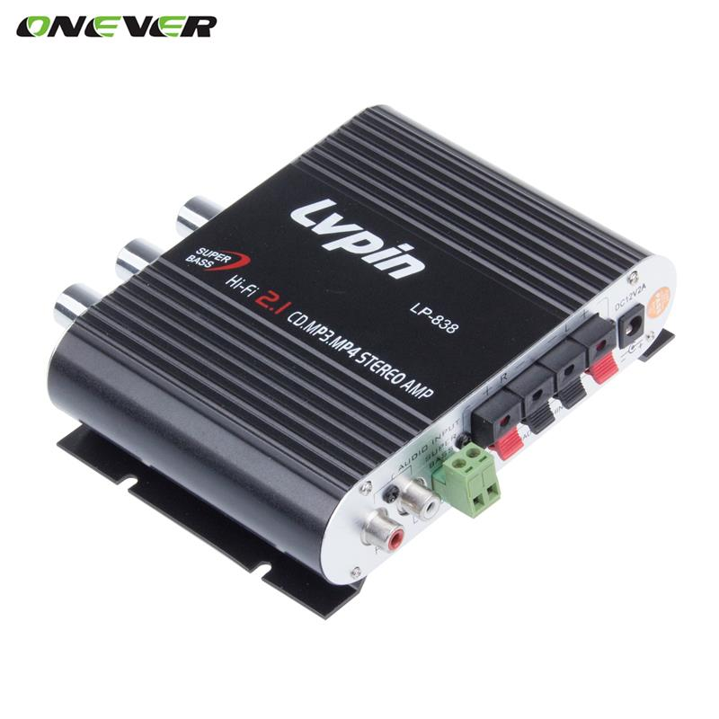 Car-Amplifier Subwoofer-Booster-Radio Stereo-Sound Motorcycle Hi-Fi Channel MP3 New Mini