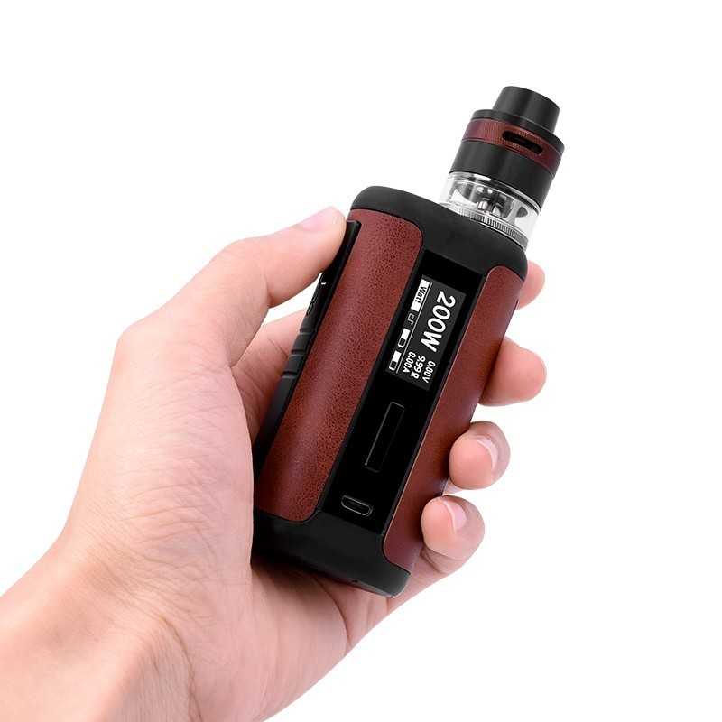 Original Aspire Speeder Revvo Kit med 200 W Leather Speeder Mod og - Elektroniske sigaretter - Bilde 5