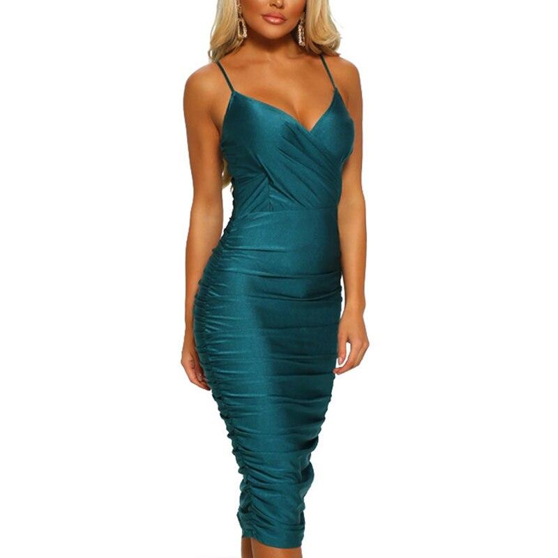 Пикантная женская обувь; с рюшами; платье летние одноцветные джинсовые платья-комбинезоны бретельках v-образный вырез на шее, длина миди фит...