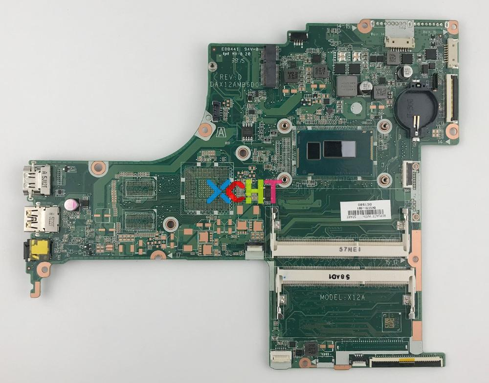 841779 601 UMA W I5 4210U CPU DAX12AMB6D0 For HP PAVILION NOTEBOOK 17 G119DX 17 G167CL 17 G137nr PC Motherboard Mainboard Tested