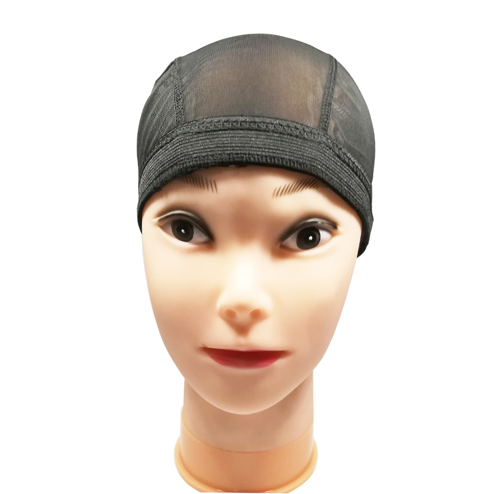 Spandex Mesh Dome Wig Cap Easier Sew In Hair Stretchable Weaving Cap Glueless Hair Net Wig Liner Cheap Wig Caps For Making Wigs 3