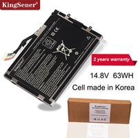 KingSener Korea Cell PT6V8 8P6X6 08P6X6 T7YJR Battery for DELL Alienware M11x M14x R1 R2 R3 PT6V8 14.8V 63WH