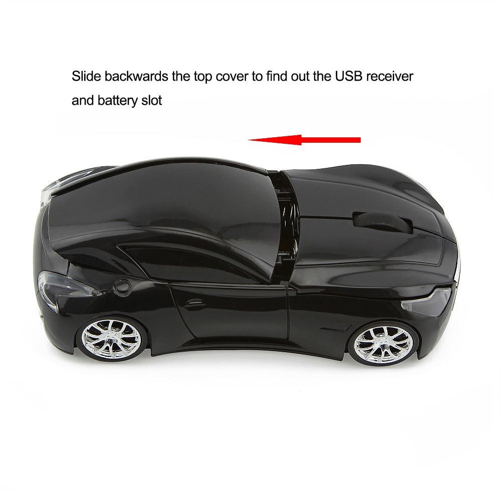 CHYI Wireless Mouse Infiniti Sports Car Mouse 1600 DPI - Համակարգչային արտաքին սարքեր - Լուսանկար 3
