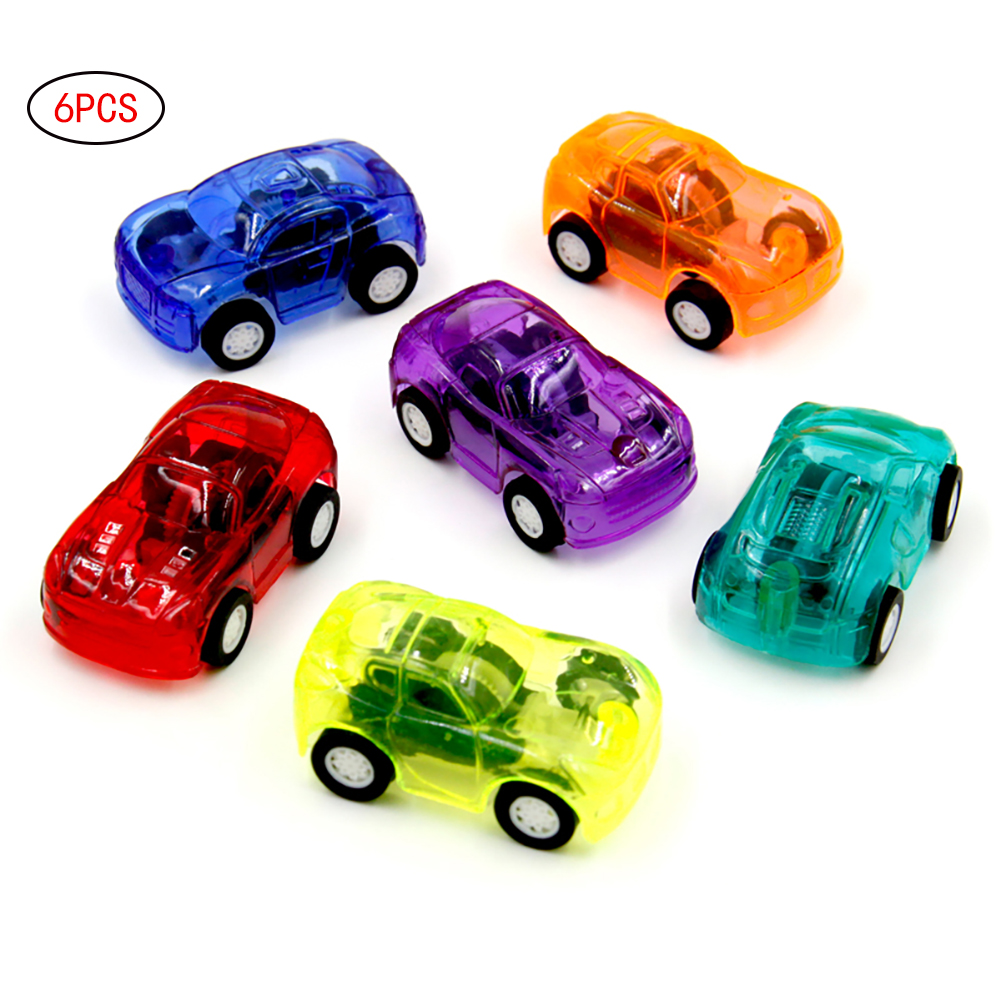 6pcs Mini Pull Back And Let Go Fast Racing Car 2
