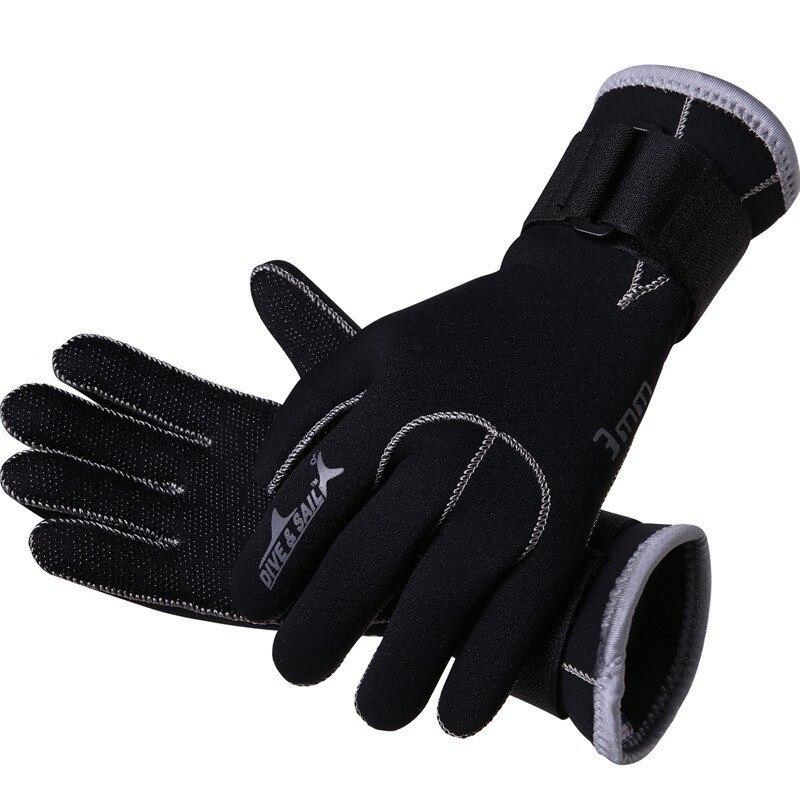 Buceo y vela de neopreno de 3mm de buceo guantes de alta calidad ... 4886f7c1b7b