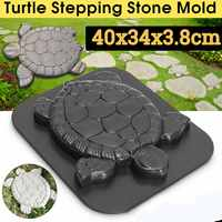 DIY ABS Path Maker Mold Manually Paving Cement Brick Molds Stone Road Concrete Molds Tool For Garden Pavement