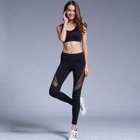 Ladies Mesh High Waist Workout Leggings Fitness Women Pants Breathable Push Up Leggings Fashion Sexy Quick Dry Leggins