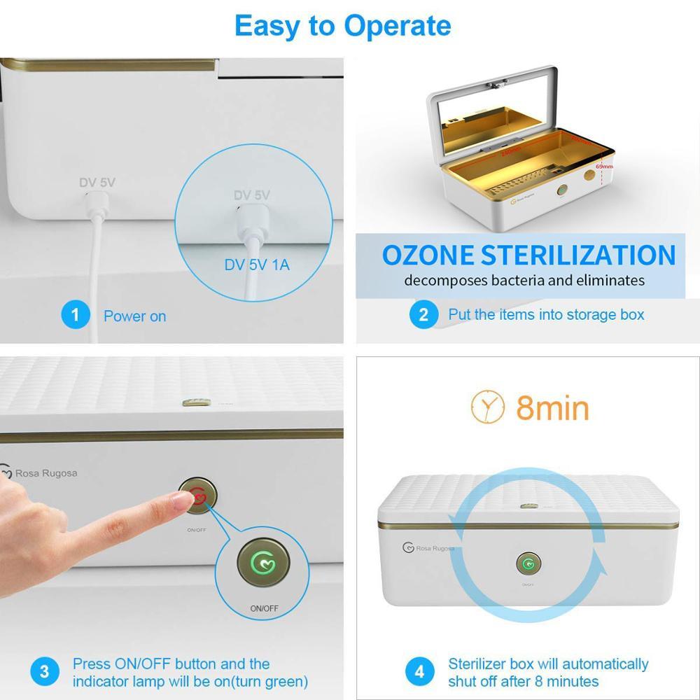 Nettoyant et désinfectant CPAP nettoyant CPAP fournit des UV sans Ozone pour masque CPAP et respirateur à Tubes d'air - 3