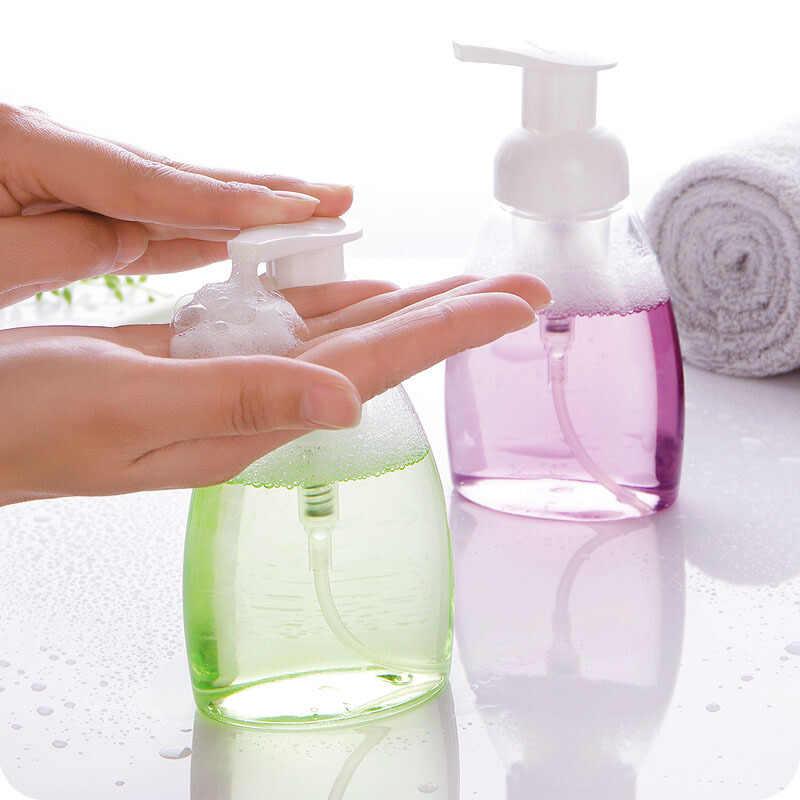 30/60/100/150/300 ml butelka do spieniania piany pompa dozownika mydła szampon balsam żel pod prysznic z pianki butelki z pompką dispensador de jabon