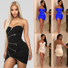 Hirigin Brand Sexy Dress 2019 Newest Vestidos Women Bandage Bodycon Sleeveless Evening Party Club Short Mini