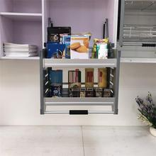And Storage Keuken Alacena Accesorios Armario Hanging Cozinha Cuisine Organizer Kitchen Cabinet Cestas Para Organizar Basket