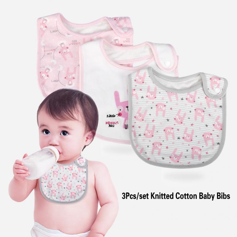 Brand New Newborn Child Kids Baby Bib With Teether Hygienic Food Catcher Towel