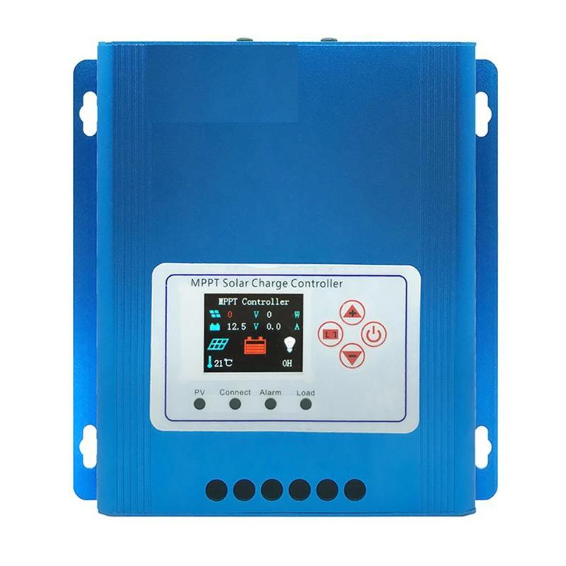 48 V 24 V 12 V Auto panneau solaire contrôleur de Charge de batterie 48V-30A PWM LCD affichage solaire capteur régulateur d'énergie solaire