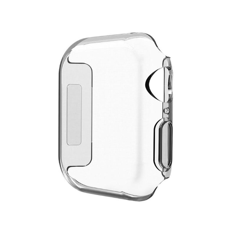 ALLOYSEED Ultra thin Hard PC Screen Protective Case Cover Shell Frame Protector for Apple Watch iWatch Series 4 40 44mm