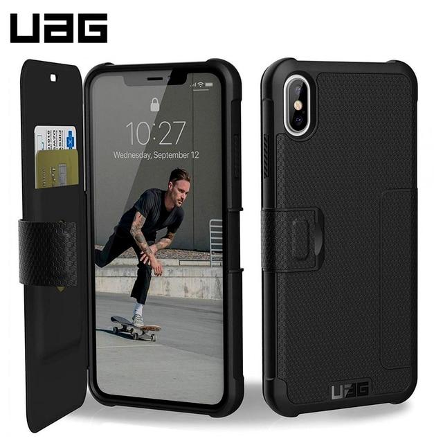 Защитный чехол UAG для iPhone XS Max серия Metropolis цвет черный/111106114040/32/4