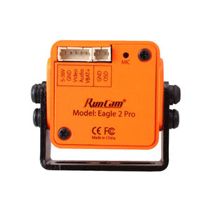 Image 5 - RunCam Eagle 2 Pro Global WDR, OSD Audio 800TVL CMOS FOV 170 градусов 16:9/4:3 переключаемая FPV камера оранжевого и красного цвета для радиоуправляемых дронов