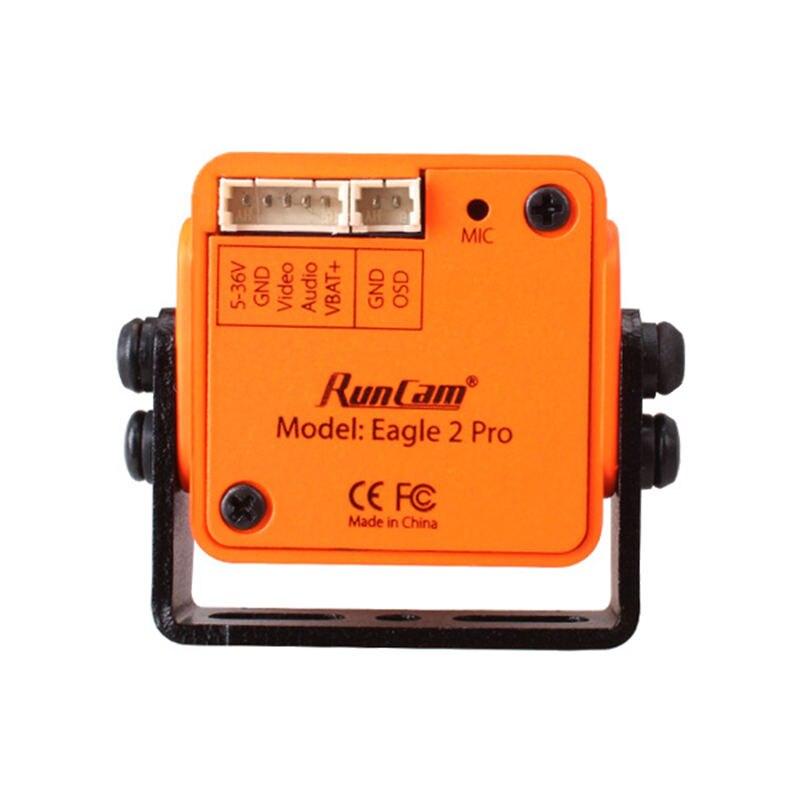 Image 5 - Runcam eagle 2 pro global wdr osd áudio 800tvl cmos fov 170 graus  16:9/4:3 switchable fpv câmera laranja vermelho para rc drone  peçasPeças e Acessórios
