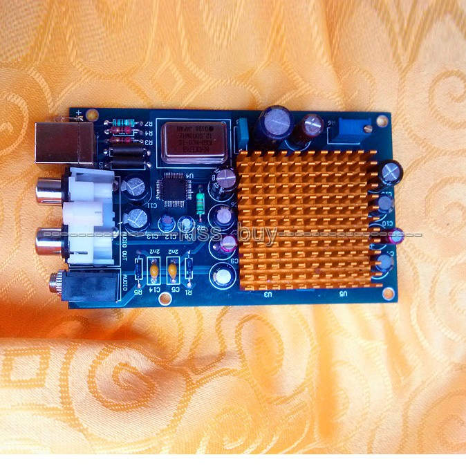 L1387USB 8X fever decoding amp Hifi sound card