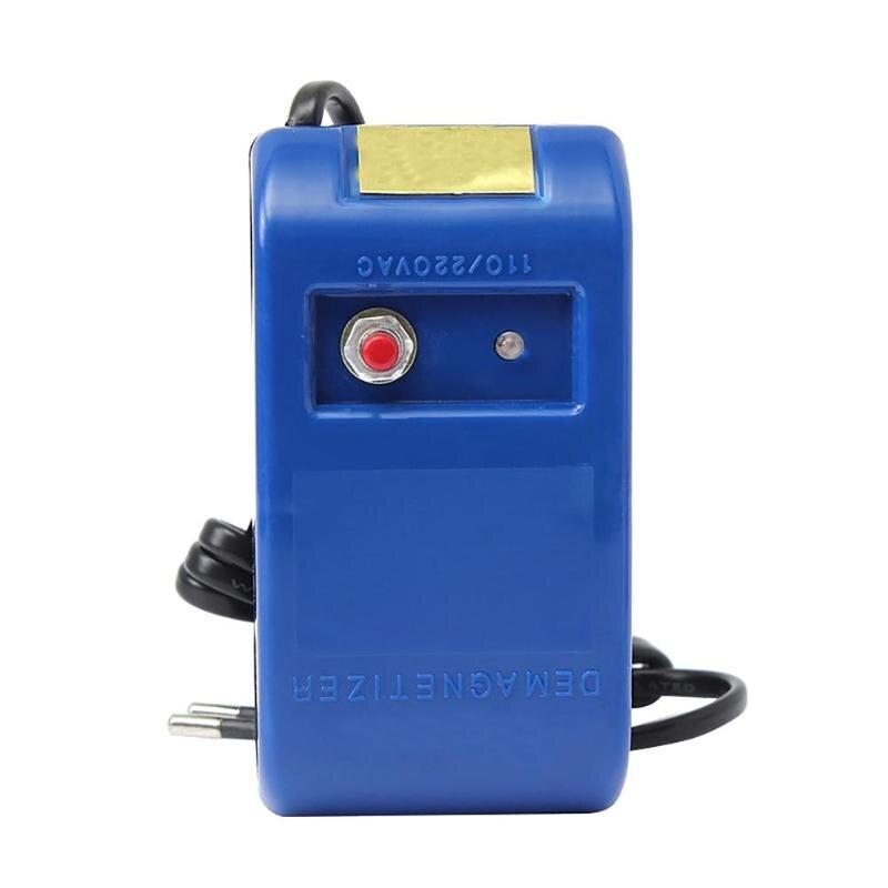 Plastics Watch Demagnetizer Watch Repair Screwdriver Tweezers Electrical Professional Demagnetize Tool for Watchmaker EU Plug