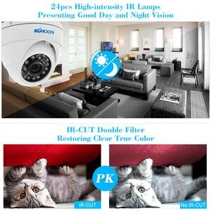 Image 3 - KKmoon caméra de vidéosurveillance dextérieur 1080P AHD 2mp 24 IR, Vision nocturne, IR CUT étanche, dispositif de sécurité dextérieur