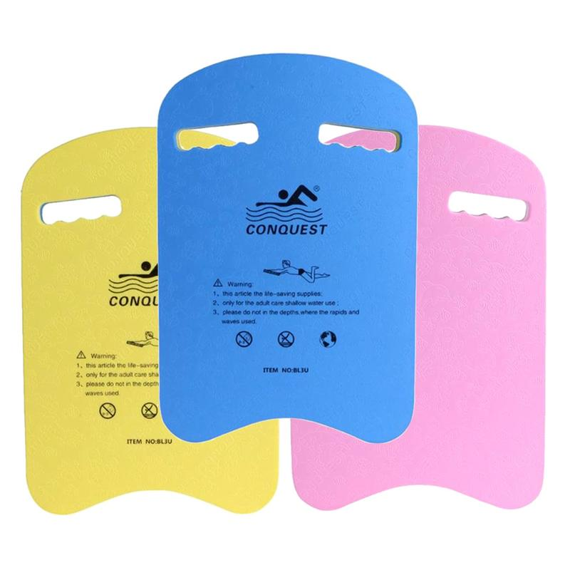 Swimming Pool Float Board Swimming Kickboard Accessories EVA Safety Swimming Board Training Aid Back Plate Board For Child Adult