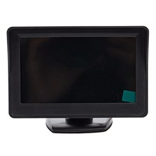 2 In 1 Car Parking System Kit 4 3 inch Tft Lcd Color Rear View Display