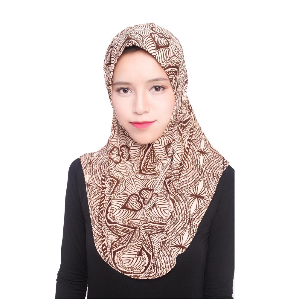 Image 5 - Women Muslim Viscose Long Scarf Hijab Islamic Shawls Arab Shayla  Wrap Scarves Headwear Hats Prayer Hat Full Cover Niquabs AmiraWomens  Scarves