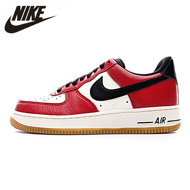 NIKE AIR FORCE 1 LOW AF1 Men's Skateboarding Shoes Non-Slip Resistant Outdoor Sports Shoes # 820266
