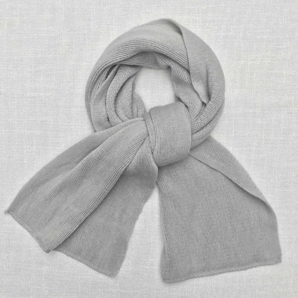 Bufandas de invierno gruesas cálidas de Cachemira falsa de talla larga bufandas Unisex de moda de Color sólido de marca de lujo fulard caqui negro gris