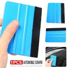 Car Styling Stickers Accessories Plastic Vinyl Squeegee Decal Wrap Application Tool Soft Felt Edge Scraper
