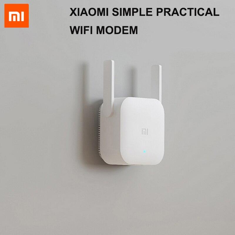 Xiao mi Simple pratique WiFi Modem 300 Mbps WiFi répéteur amplificateur Wifi Extender de Signal 2.4G mi sans fil blanc routeur