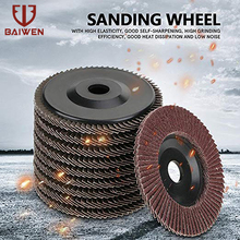 10Pcs 4 Polishing Grinding Wheel Quick Change Sanding Flap Disc For Grit Angle Grinder 80 Abrasive Tool