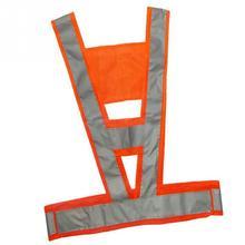 Новинка, лидер продаж, светоотражающий дорожный светильник, v-образный жилет безопасности, отражающий высокую видимость