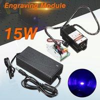 15W Laser Head Engraving Module 450nm Blue Light Marking Engraver With TTL Modulation DIY Diode Metal Marking