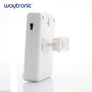 Image 3 - Waytronic Pir capteur de mouvement infrarouge activé voix lecteur Audio enregistrable entrée sonnette de bienvenue pour magasin de magasin avec Usb