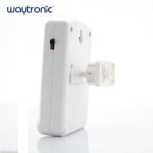 Image 3 - Waytronic Pir kızılötesi hareket sensörü aktif ses kaydedilebilir ses çalar giriş hoşgeldiniz kapı zili mağaza mağaza için Usb ile